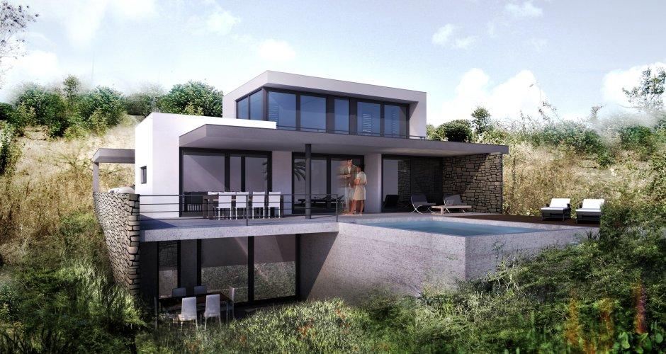 Huis Modern Huis : Modern huis brakkeput ariba ihc architects