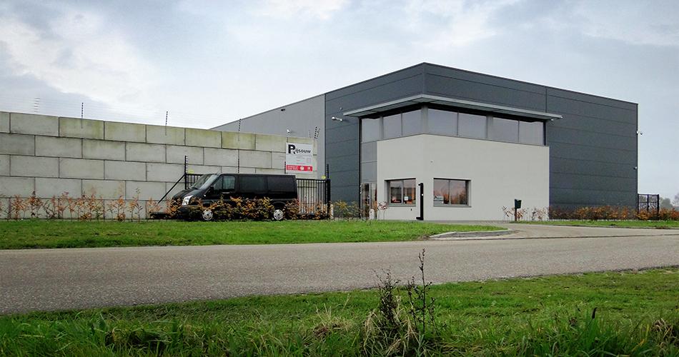 Bedrijfspand architectuur Rijsouw Recycling Gemert, door architectenbureau Nederland IHC architects