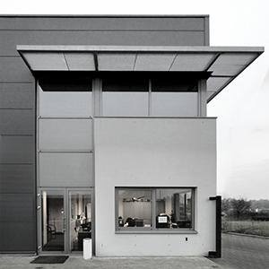 Kantoorgebouw ontwerp Rijsouw Recycling Gemert, architectuur IHC architects