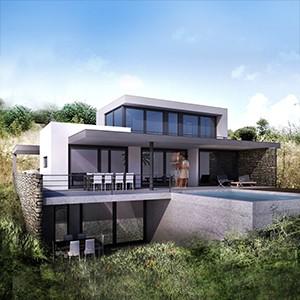 Modern huis Brakkeput Ariba