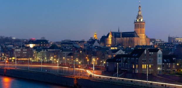 Sint-Stevenskerk Nijmegen, Nederland, uitzicht