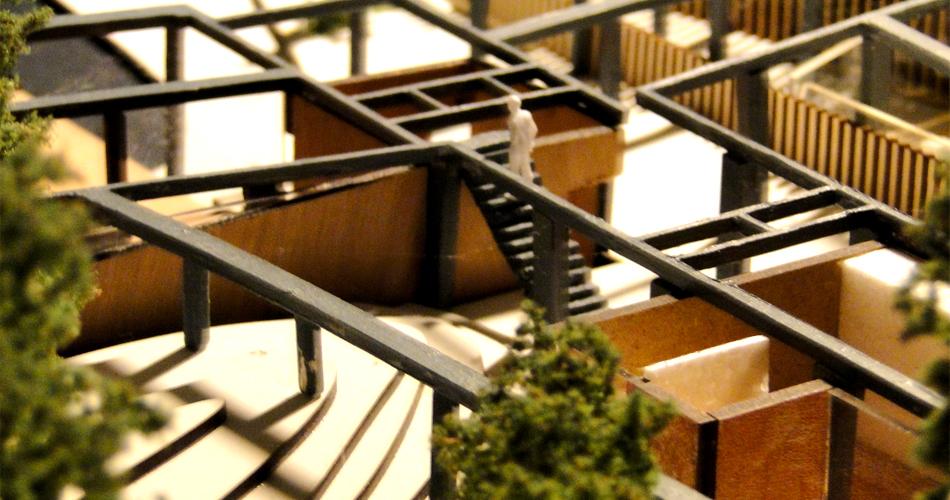 Stuwwal Nijmegen Nederland reparatie, ontwerp door IHC architects