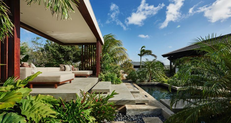 Villa Terrace Estate nieuwbouw Curacao, architectenbureau IHC architects