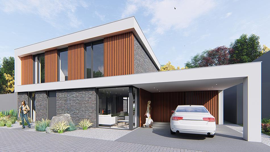 Boerderij in Gemert interieur Nederland naar woonboerderij door IHC architects
