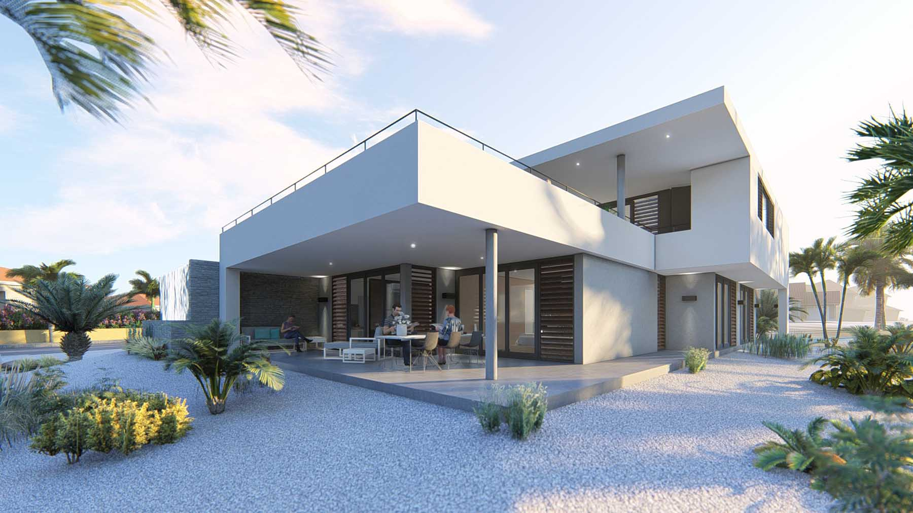 Architect villa ontwerpen