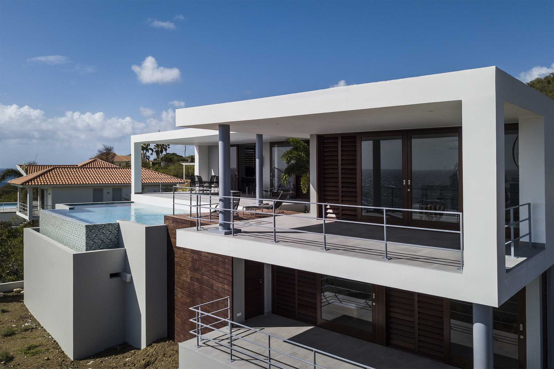 Modern villa coral estate ihc architects nederland curaçao
