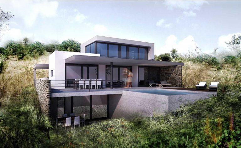 Modern house Brakkeput