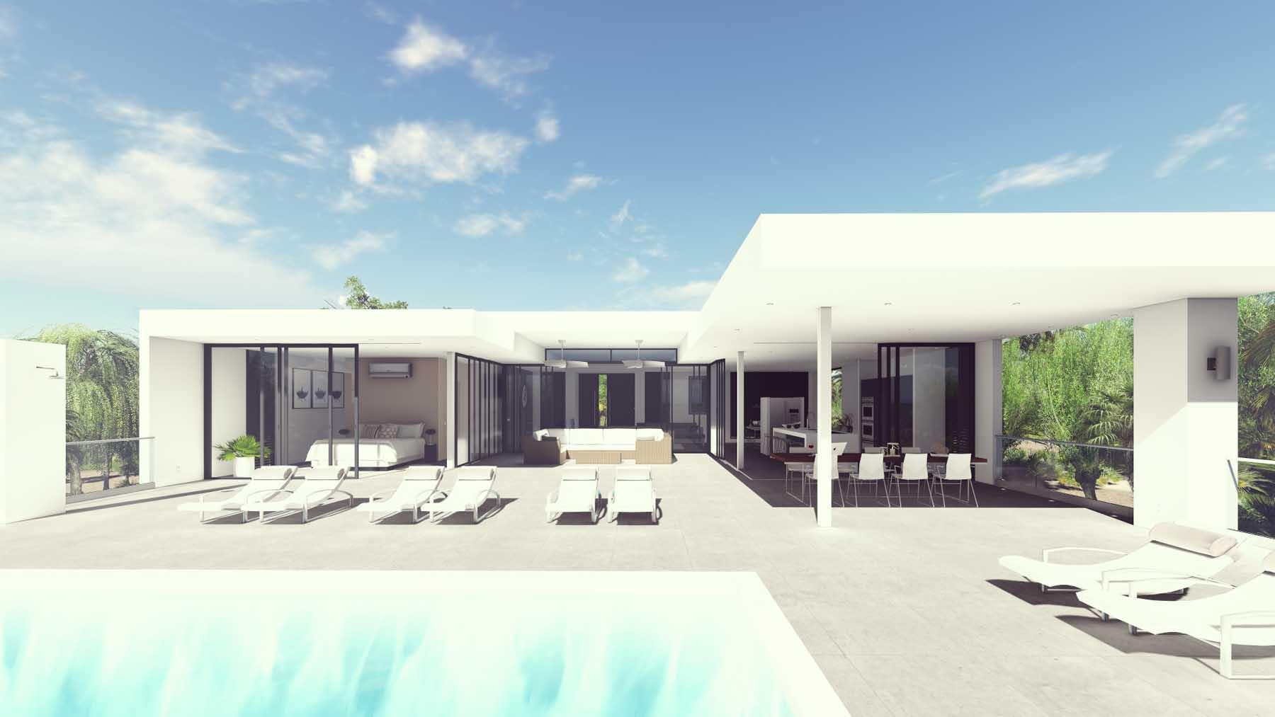 Modern holiday villa jan thiel ihc architects nederland