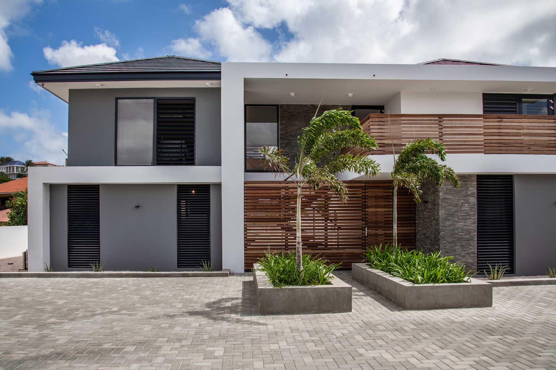 Holiday villa vista royal ihc architects nederland curaçao