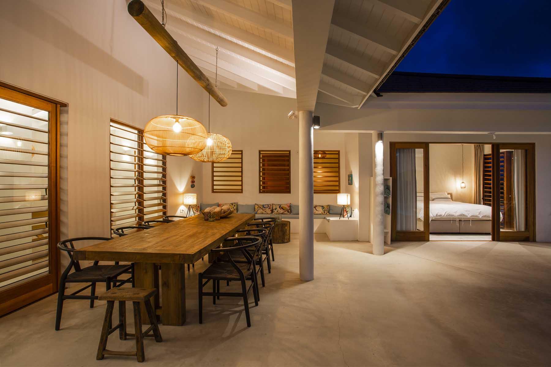 Terras buiten leven tropen modern bouwen ihc architects